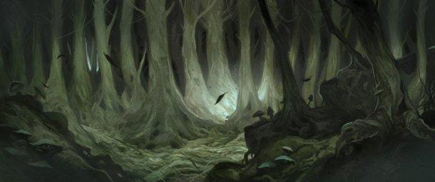 Mirkwood + la niebla de The Mist = Upside Down