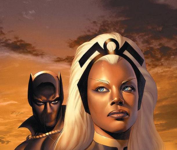 Storm y Black Panther tuvieron un romance en un arco argumental en 2006.