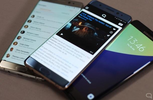 El Samsung Galaxy Note 7 es el primero en llevar Gorilla Glass 5.
