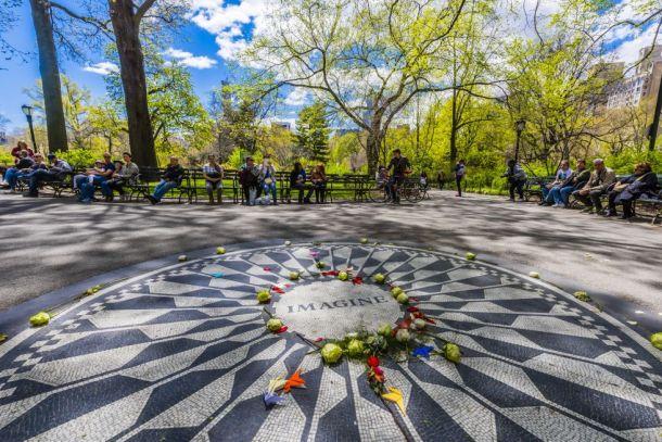 Monumento a John Lennon. Blaine Harrington III/Corbis