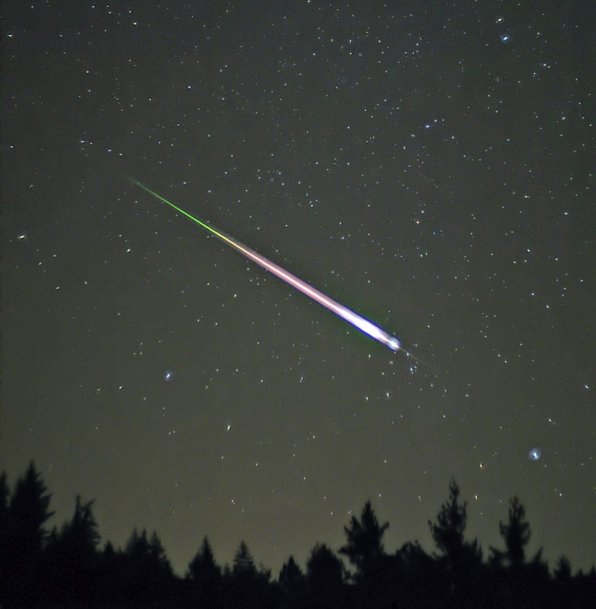bólidos y meteoros