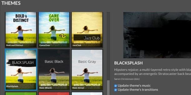 WeVideo Themes