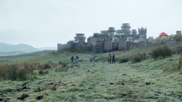 El hogar ancestral de los Stark cuenta con la misma ventaja.