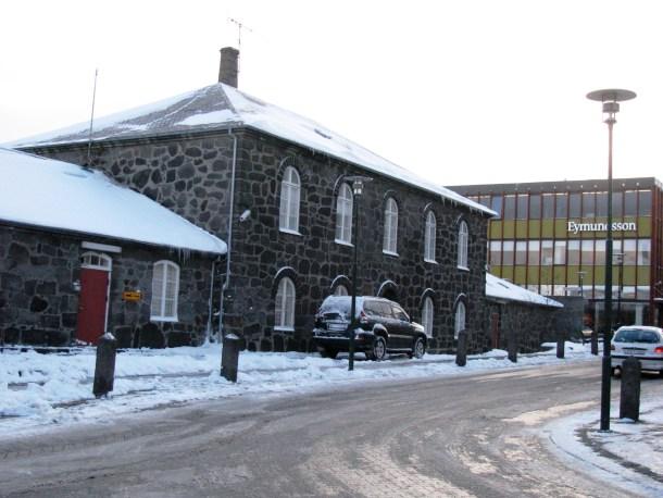 En la imagen: la prisión de Reykjavik.
