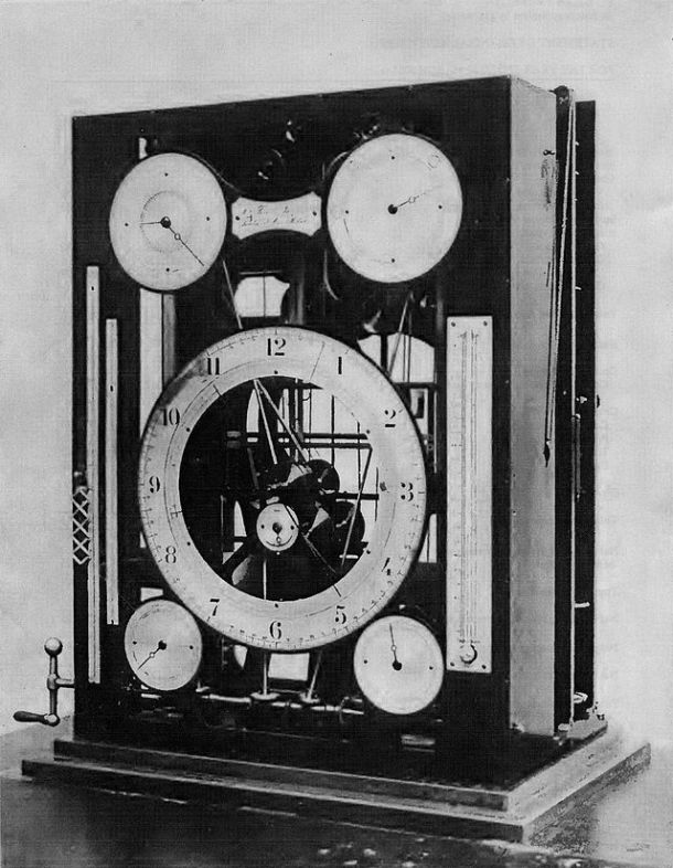 William Ferrel's tide-predicting machine of 1881-2, now at the Smithsonian National Museum of American History