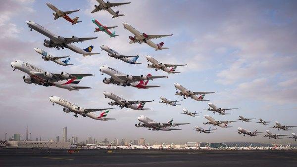 Aeropuerto Internacional de Dubai.