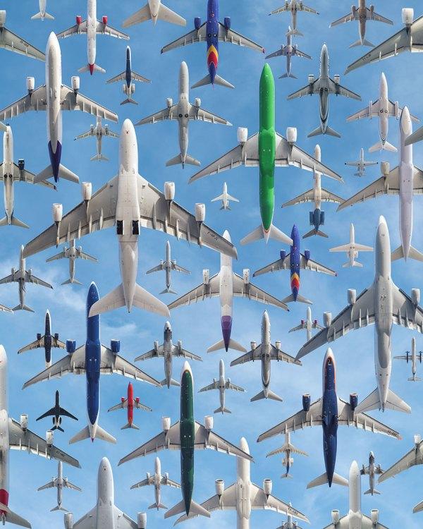 Aeropuerto Internacional de Los Angeles.
