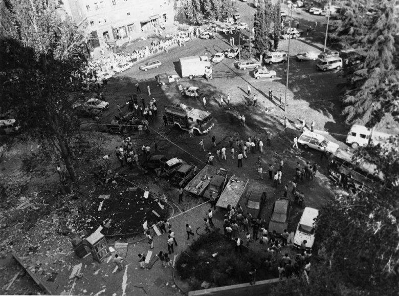 Atentado de ETA en la Plaza República Dominicana (Madrid), 1986