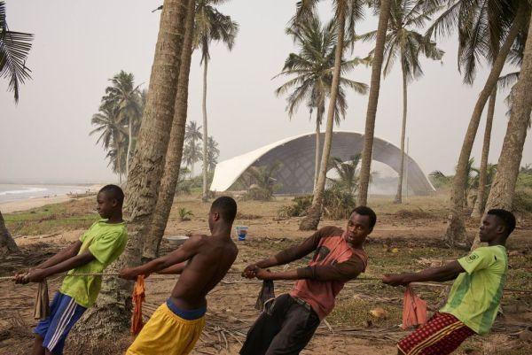Instituto de artes y cultura Haduwa en Ghana.  Julien Lanoo.
