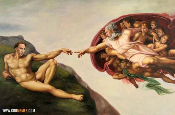 Tristemente, existen más imágenes así de Nicolas Cage que planetas en No Man's Sky