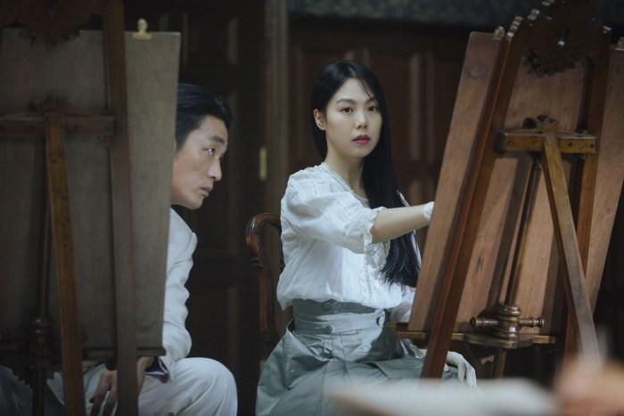 Las lecciones de pintura más tensas que verán en su vida. CJ Entertaiment