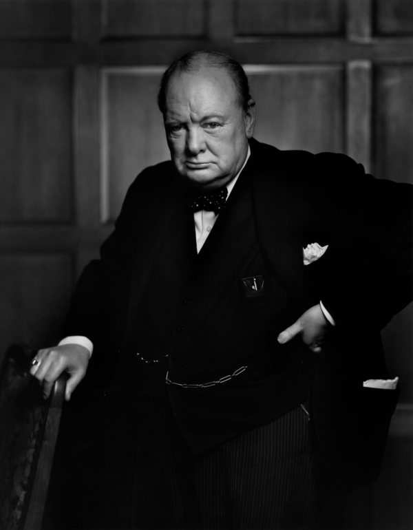 Winston Churchill, 1941 by Yousuf Karsh