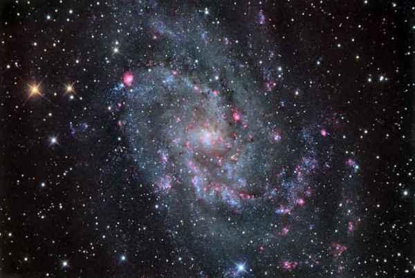 Chris Schur. Galaxia del Triángulo, captada desde Payson, Arizona