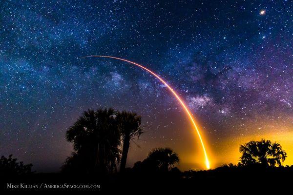 Mike Killian, Lanzamiento del Falcon 9 desde Cabo Cañaveral el 6 mayo