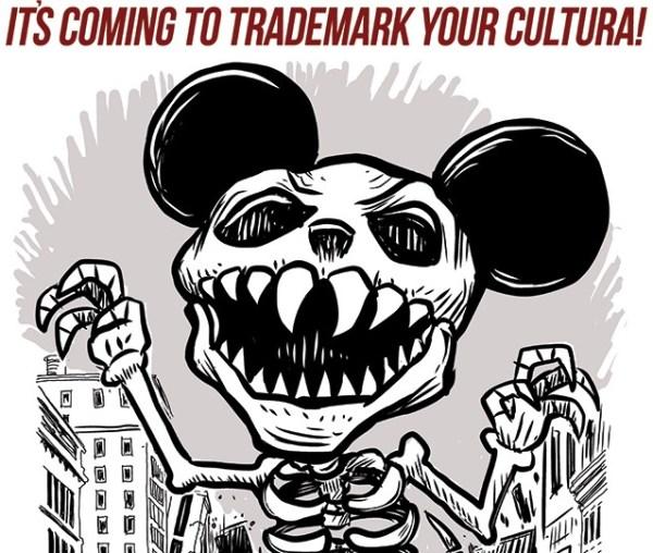 """Muerto Mouse"", ilustración de Lalo Álvarez."