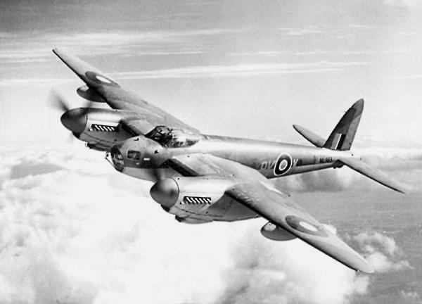 Mosquito de la Real Fuerza Aérea Británica