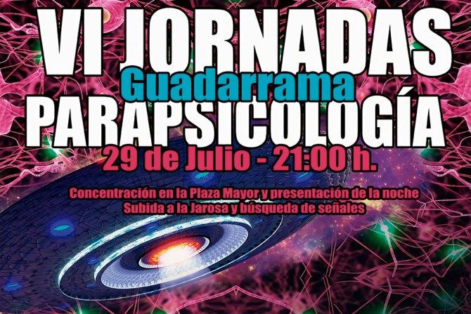 jornadas de parapsicología de guadarrama