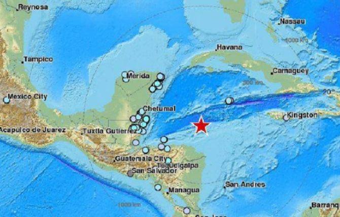 Terremoto honduras