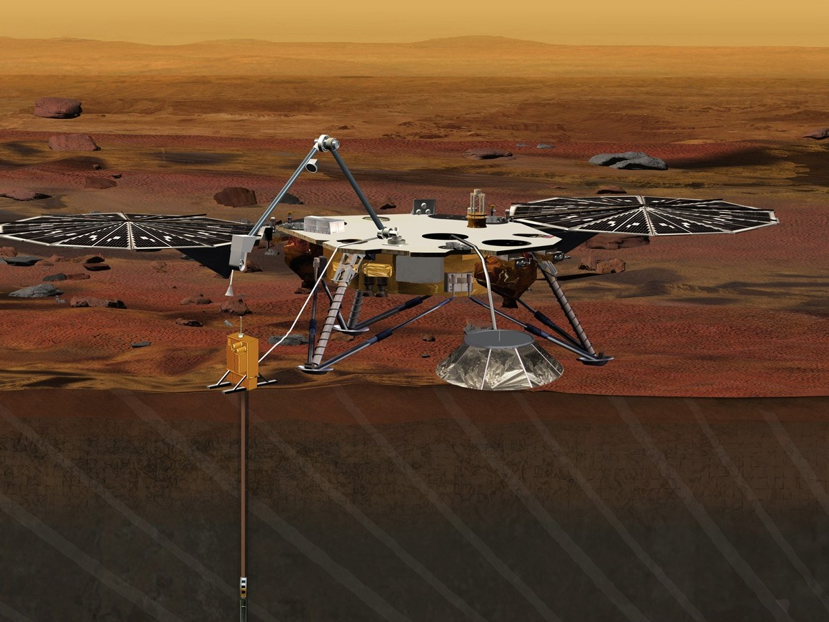 insight, misión en Marte