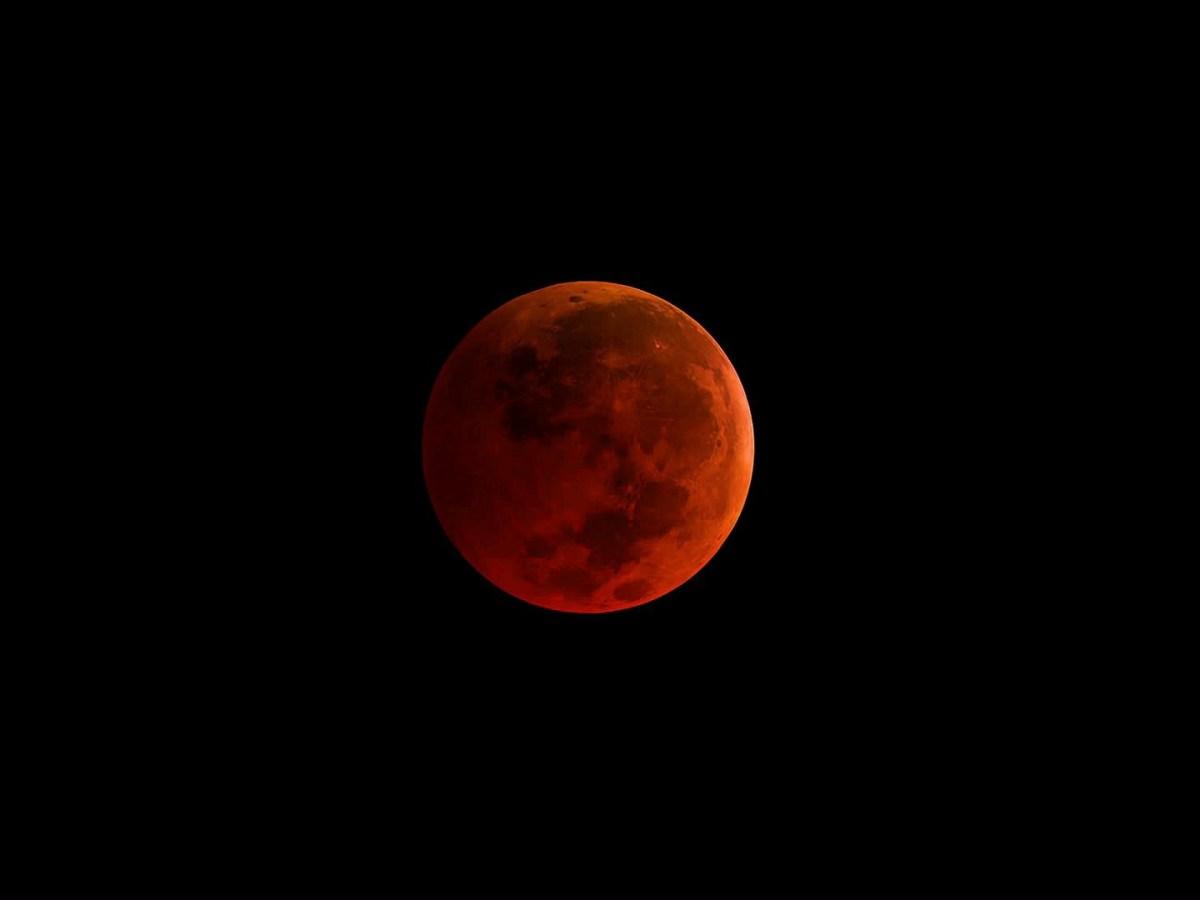 superluna de sangre azul