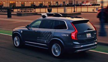 Vehículo autónomo de Uber