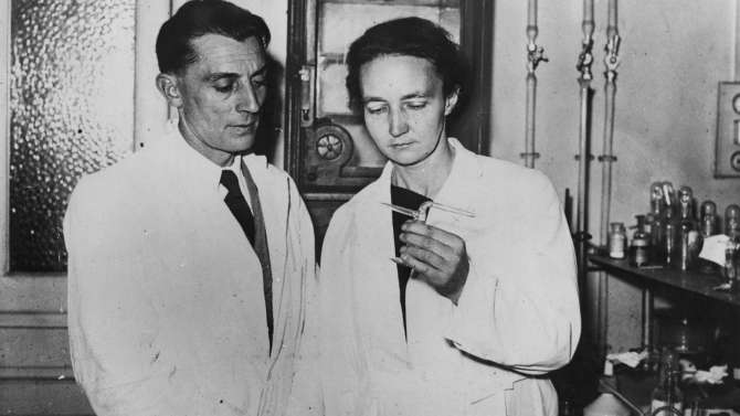 Frédéric Joliot e Irène Joliot-Curie