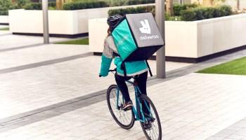 Deliveroo, rider, salida a bolsa deliveroo