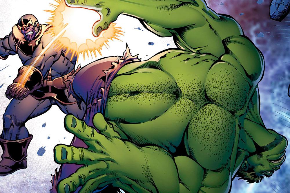 thanos hulk