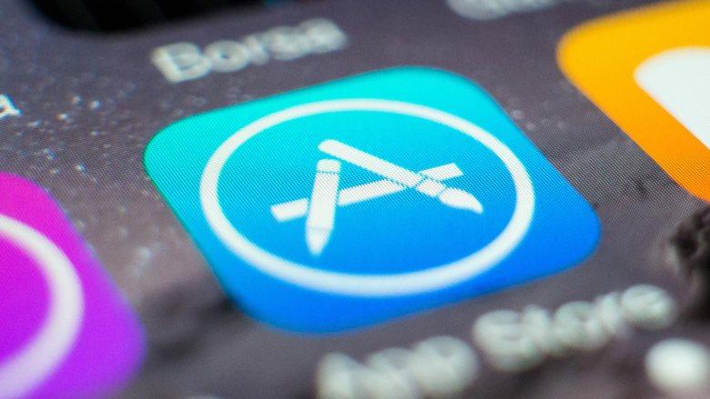 Apple App Store en un iPhone tim cook apps