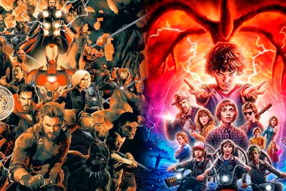avengers infinity war stranger things