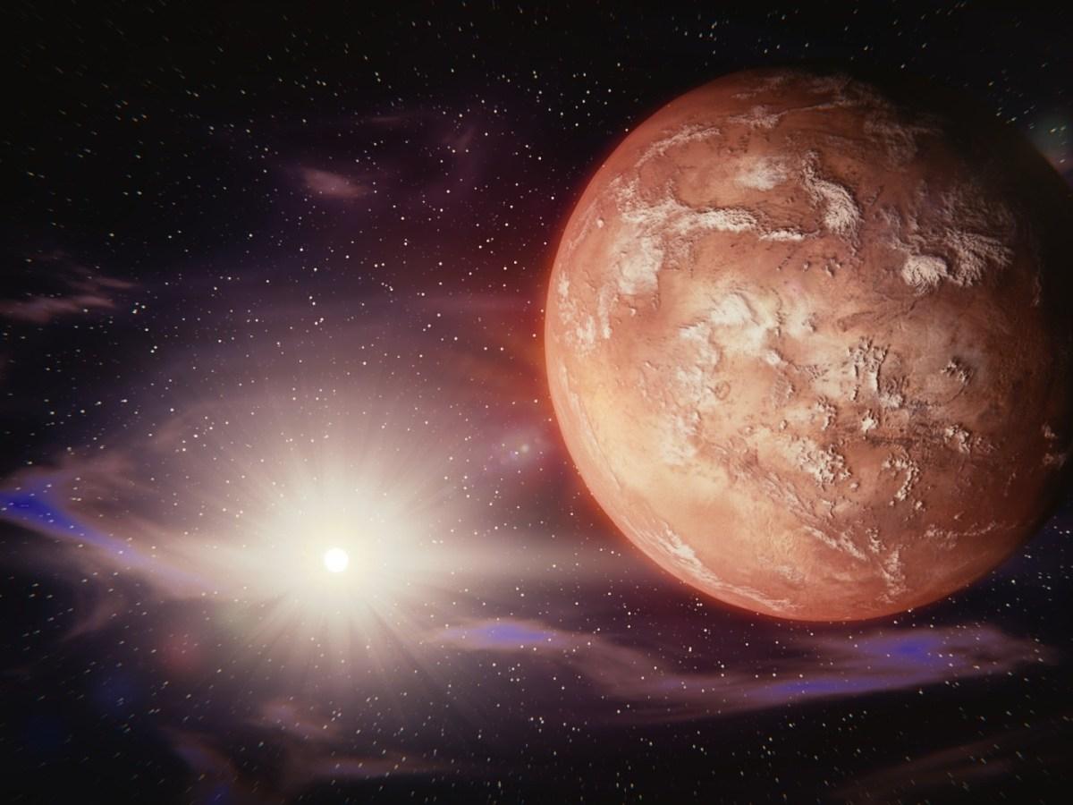 año nuevo en Marte