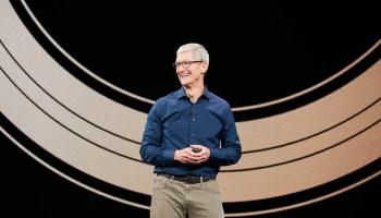 Tim Cook / Apple coche de Apple