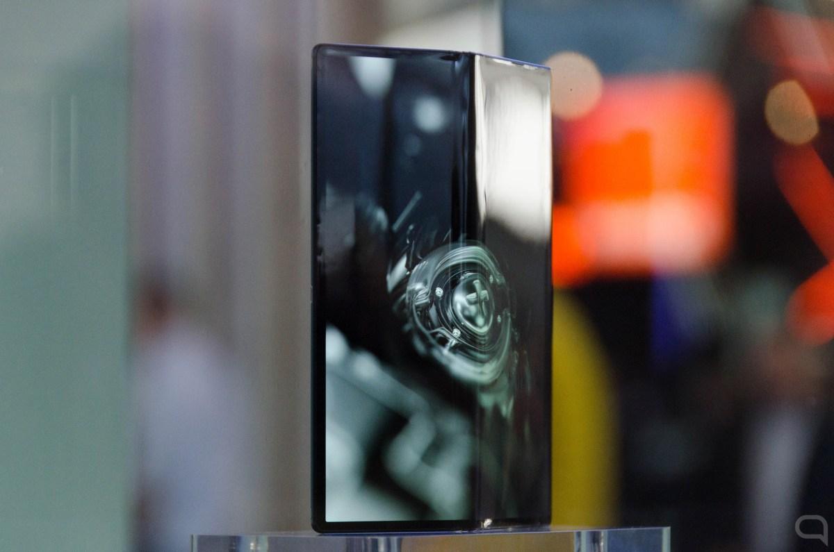 Huawei Mate X en el MWC 2019