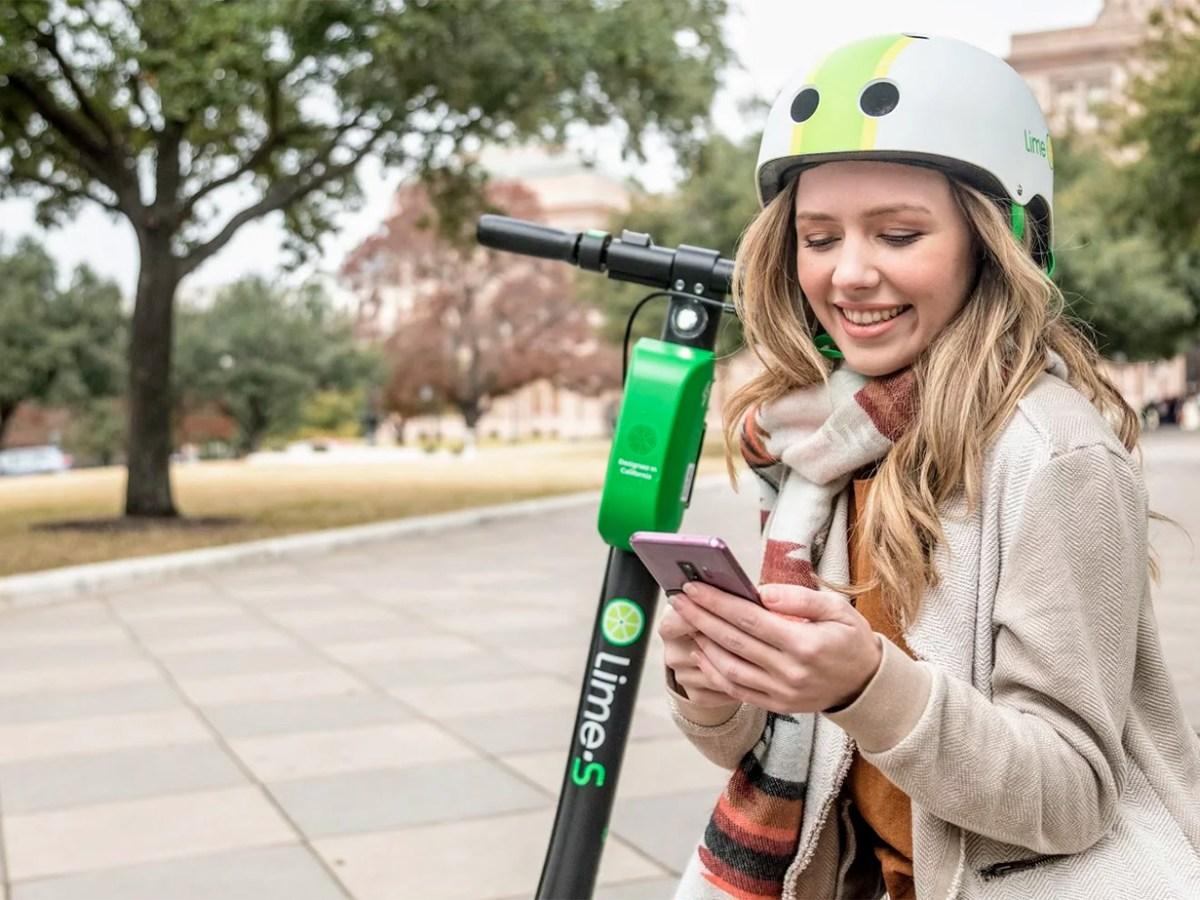 Lime patinetes eléctrico, patinetes rentables