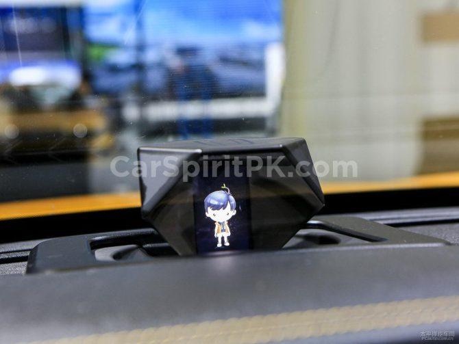 Pantalla holográfica del Bestune T77