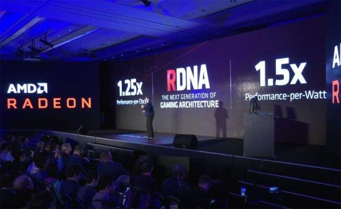 Mejoras en AMD Radeon Navi