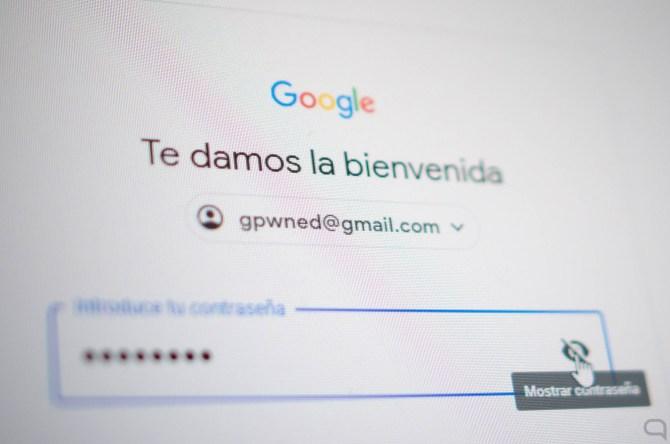 Contraseña de Google