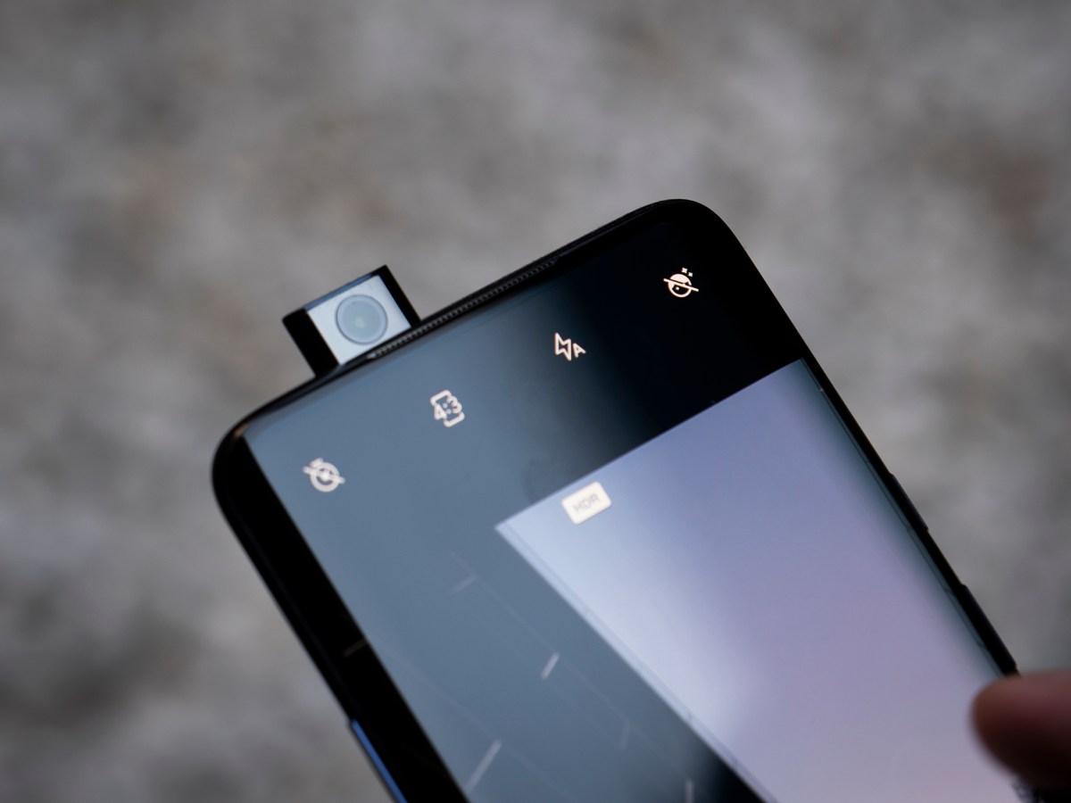 Cámara motorizada OnePlus 7 Pro