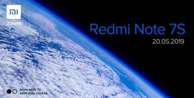 Anuncio de lanzamiento Xiaomi Redmi Note 7S