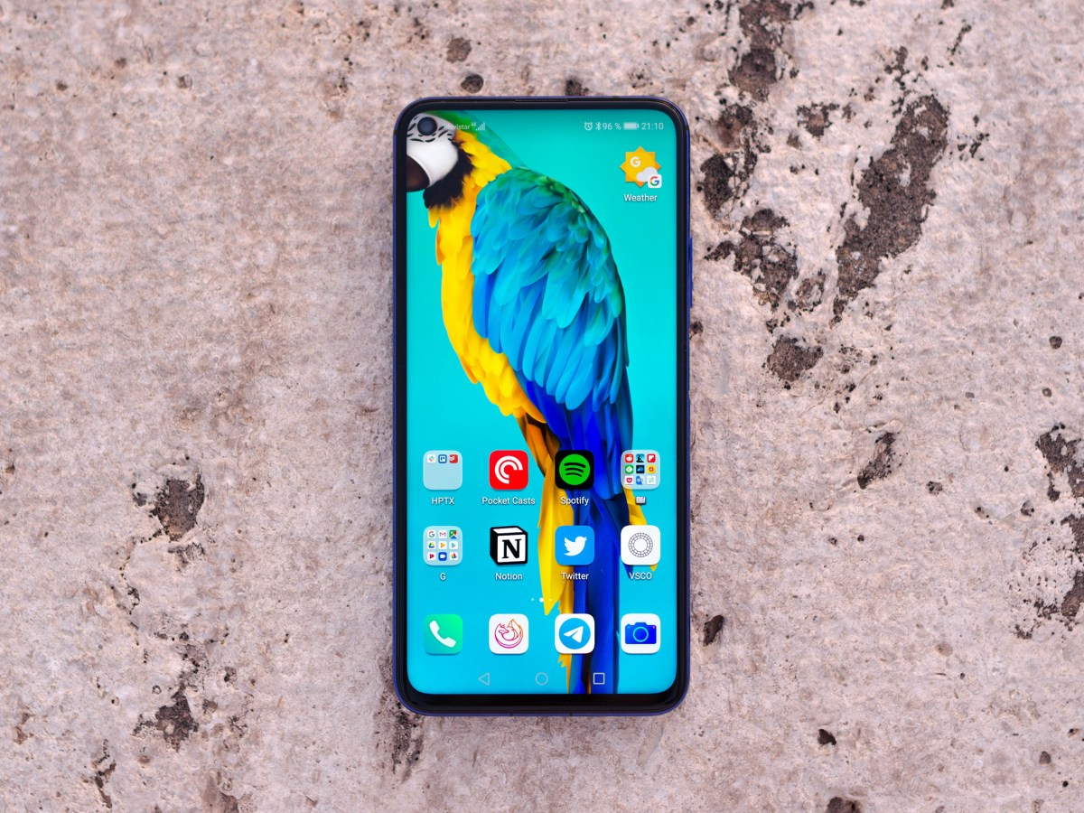 Honor 20 frontal