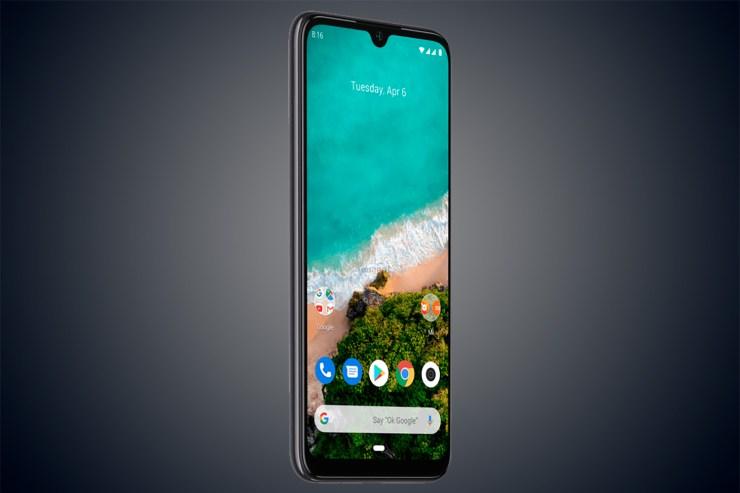 Xiaomi Mi A3 en gris/negro