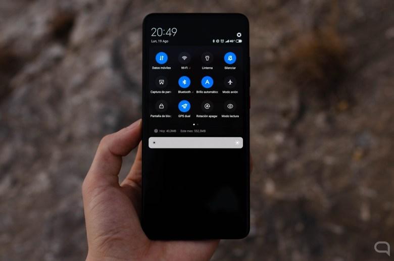 Modo oscuro en el Xiaomi Mi 9T Pro