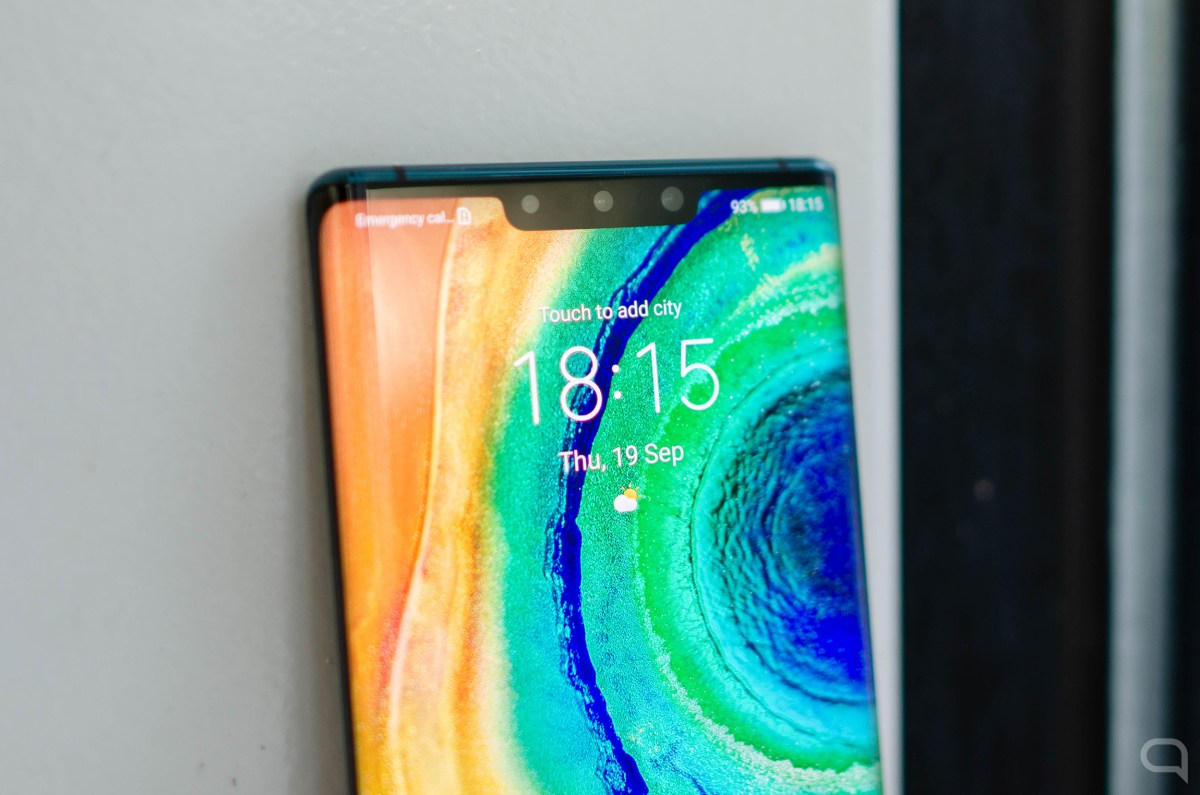 Notch del Huawei Mate 30 Pro