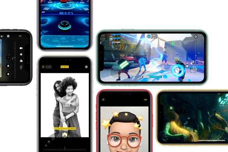 iOS 13 en el iPhone 11