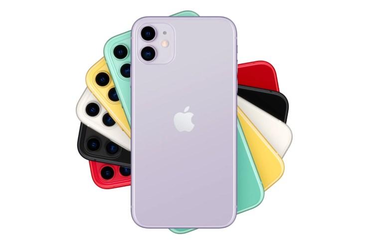 Colores del iPhone 11