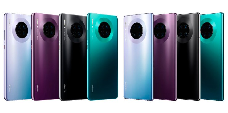 Colores del Huawei Mate 30 Pro