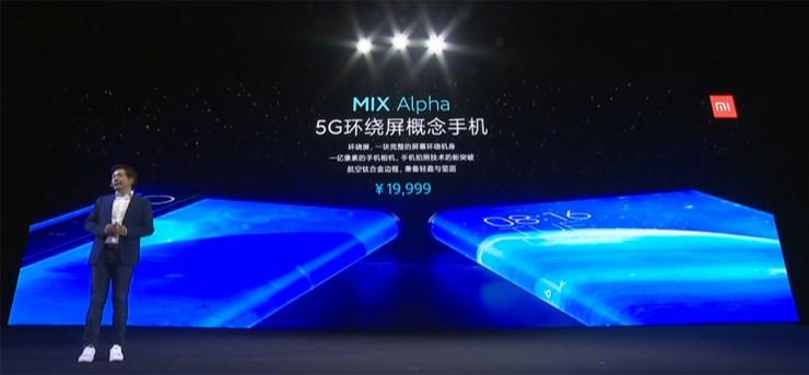 Precio del Xiaomi Mi MIX Alpha