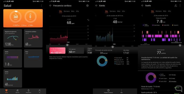 Aplicación Huawei Health para el Huawei Watch GT 2