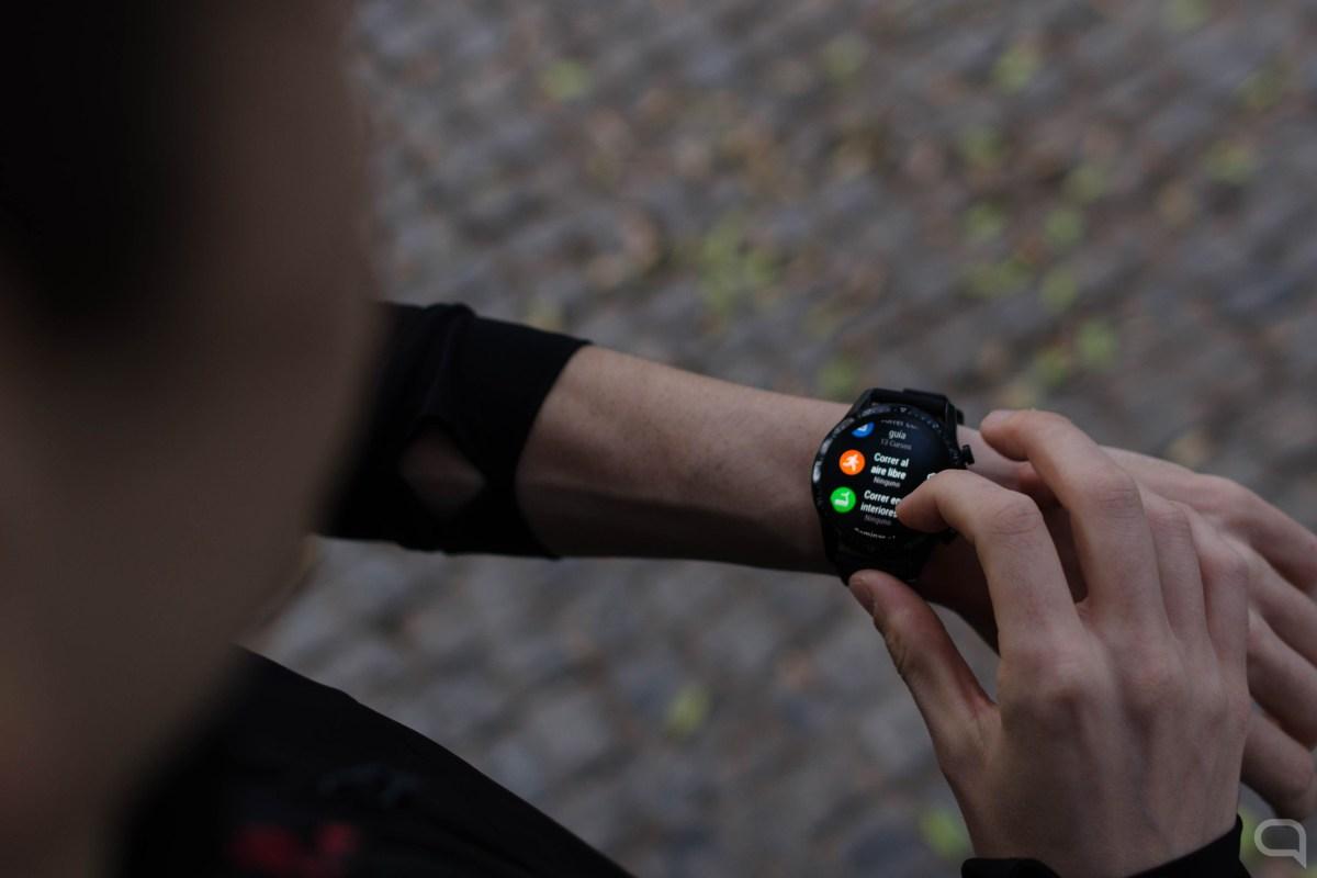Modos de deporte en el Huawei Watch GT 2