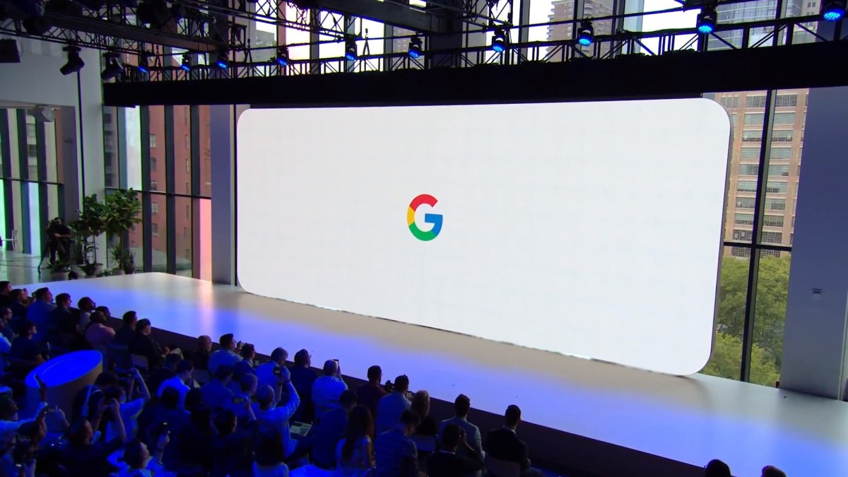 Evento Google Pixel 4